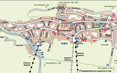 Mappa di Aprica